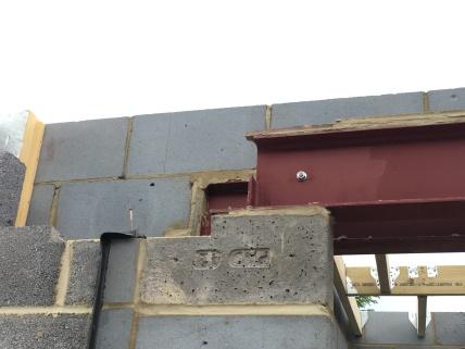 Padstone, steels & block